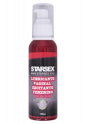 Lubricante Vaginal Excitante Femenino Starsex 100ml
